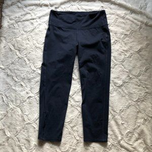 Athleta Navy Leggings 7/8ths Size Medium